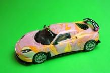 Factory paint swirl test