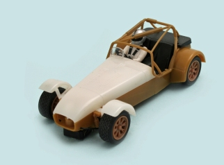 C3647 Caterham ES brown white