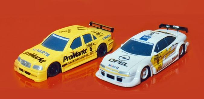 C0699 Mercedes C Class and C0701 Opel Calibra mock ups