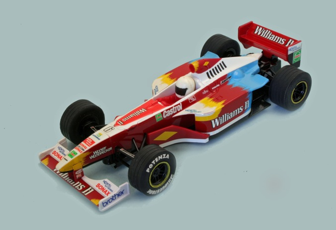 C2162 hand decorated NOT RELEASED Ralf Schumacher No6 FW20 1999