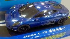 C1358 Set car Jaguar C-X75 blue