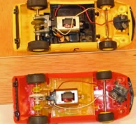 C0017 Red showing developed underpan for motor