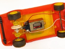 C0017 Red with yellow motor interior assembly