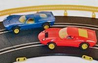 GT Racing set cars barriers fence and clips 23