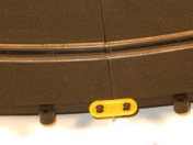 Russian track system curve connection clips