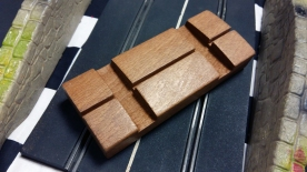 A210 Track Rubber HumpBack Bridge wooden support