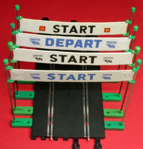 A212 START FINISH banners Types 1 2 3 4