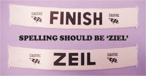 A212German SPELLING ERROR ZEIL SHOULD BE ZIEL