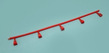 26b Fence, red, Made in Argentina