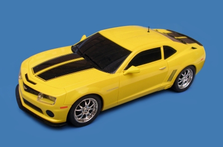 C1364 American Racers yellow Camaro