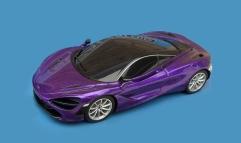 C1388 Sunset Speedway McLaren 720S purple