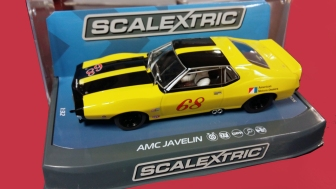 C3921 AMC Javelin 68 in box