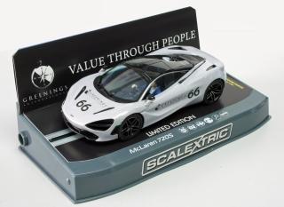 C3982 McLaren 720S CBH 66 silver on base