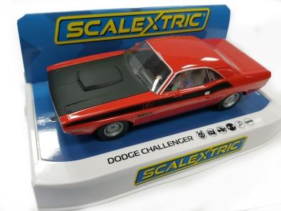 C4065 Dodge Challenger on plinth
