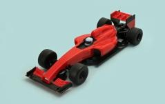 C1347 Team F1 red DA