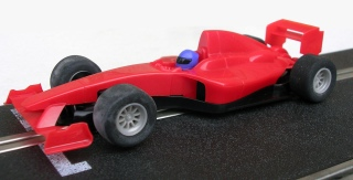 C1408 Team Formula car red