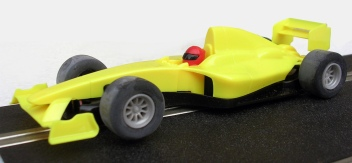 C1408 Team Formula car yellow