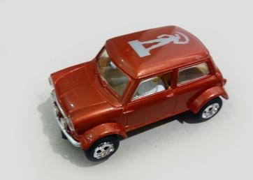 C2317 MINI Cooper Millenium Man bronze