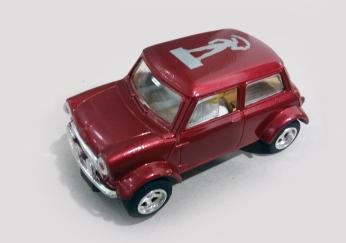 C2317 MINI Cooper Millenium Man burgundy