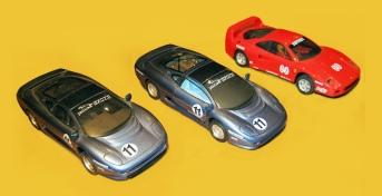 C0290 Jaguar XJ220 Ferrari F40 1993 TV ad