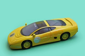 Yellow XJ220 - unknown promotion