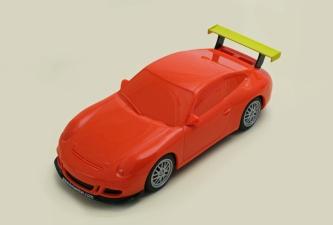 C1343 LA Porsche 997 orange LA