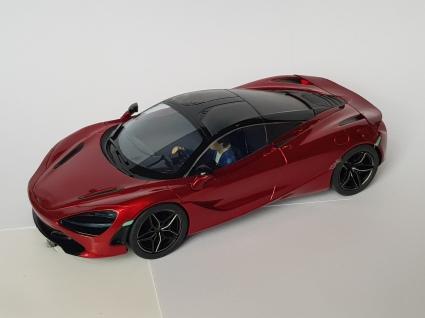 C3895 McLaren 720 burgundy deco sample