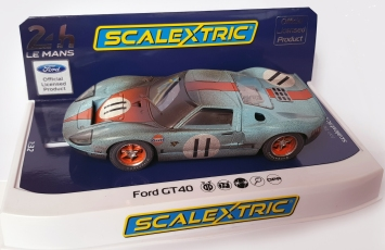 C4106 FordGT40 No11 rejected gloss finish and dirt effect too heavy