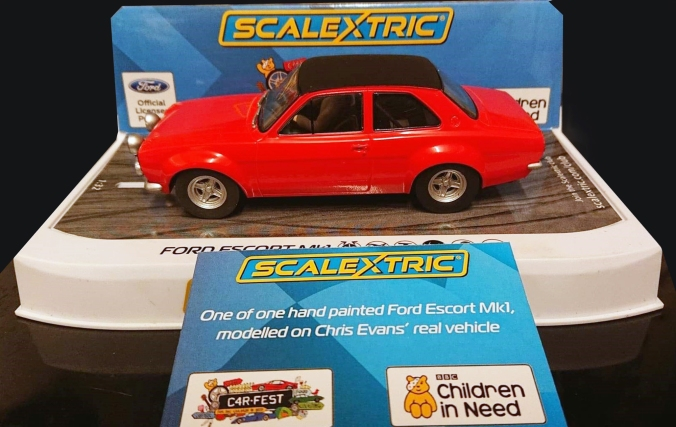 Ford Escort Chris Evans