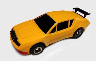 C0028 Meccano Renault yellow