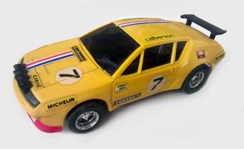 C0028 yellow Meccano Scalextric