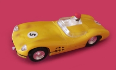 C57, yellow, small head, with lights