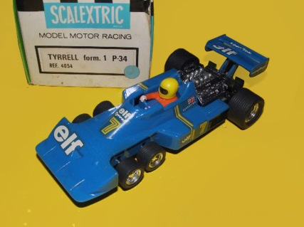 4054 blue Tyrrell P34