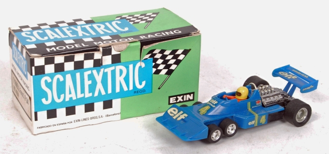 4054 blue Tyrrell with box