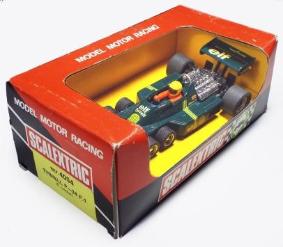 4054 green Tyrrell P34 green