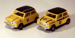 13i Spanish Mini's, different livery types