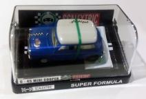 C0045 Mini Cooper Mexican blue white in box