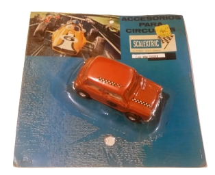 C0045 Mini Cooper Mexican orange in clamshell card