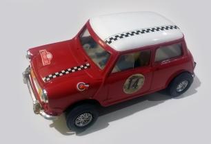 C0045 Mini Cooper Mexican red white