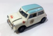 C0045 Mini Cooper Mexican White light blue