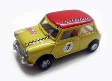 C0045 Mini Cooper Mexican yellow red
