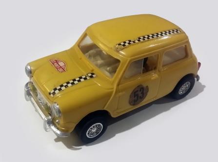 C0045 Mini Cooper Mexican yellow