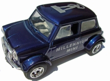 with 'Millennium Mini' printed on doors.