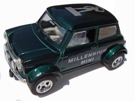 with 'Millennium Mini' printed on doors.